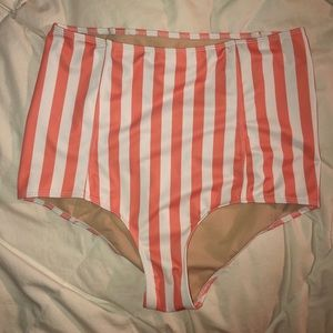 Kortni Jeane High Waisted Swim Bottoms